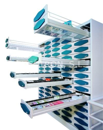 Armarios metálicos para farmacia