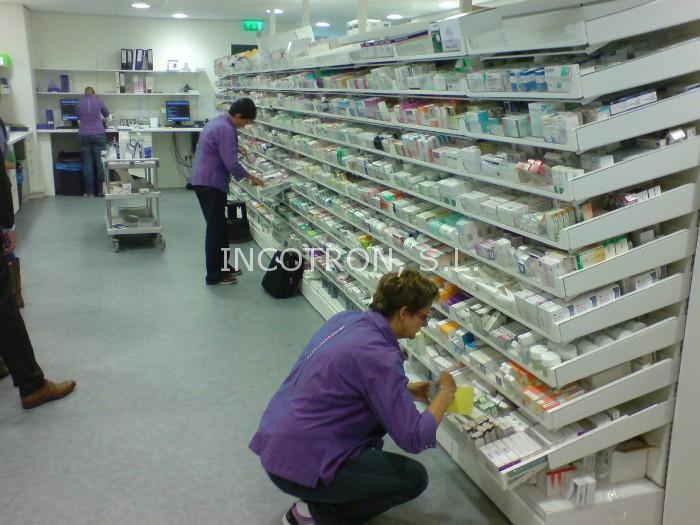 Mobiliario farmacia hospitalaria - Almacenamiento
