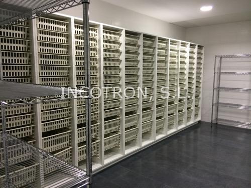Armarios almacenamiento (doble cajón) para farmacia hospitalaria