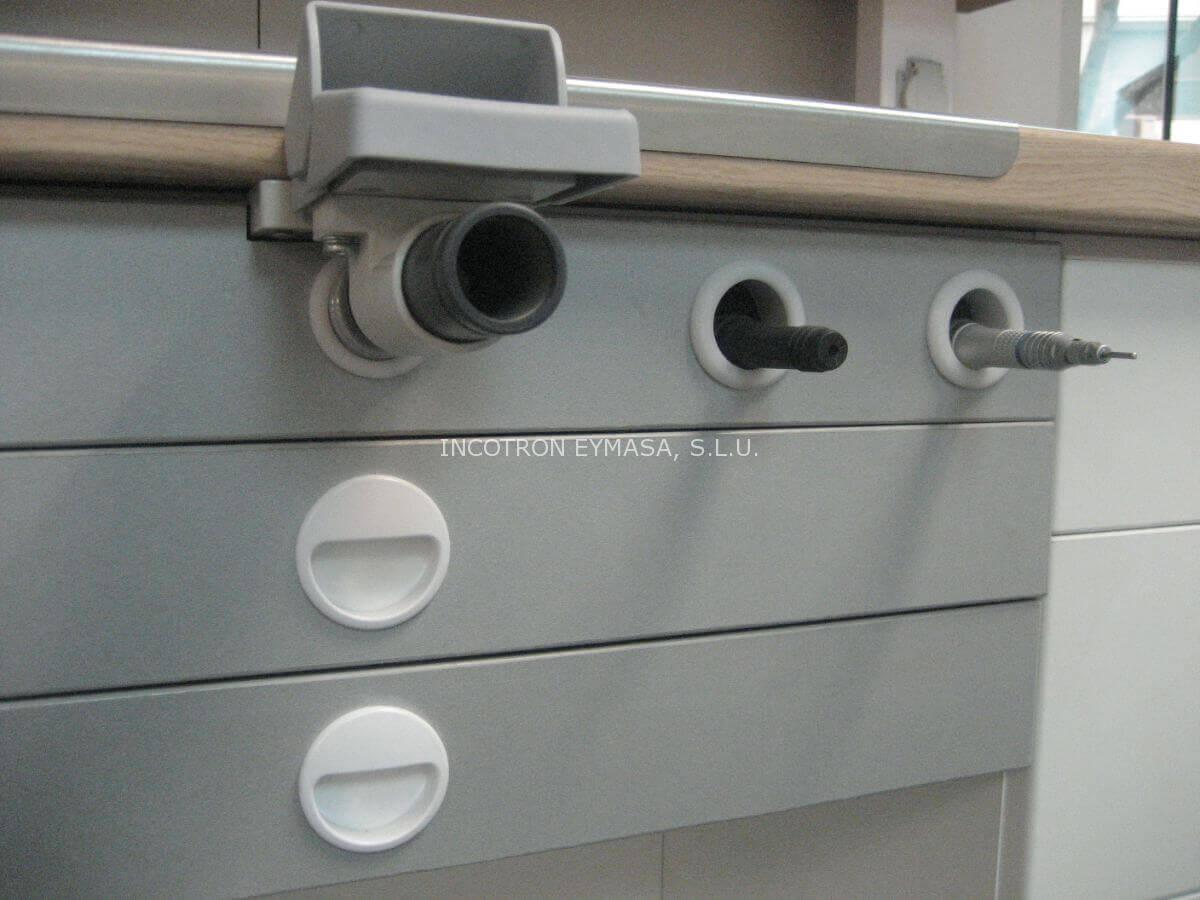 mueble para prótesis de laboratorio