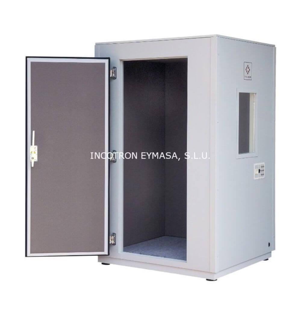 cabina audiométrica pequeña 2