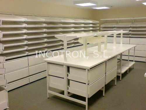 mobiliario farmacia almacen